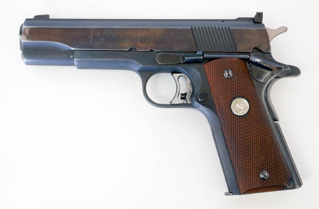 Colt 1911 .45 National Match Pistol - 2