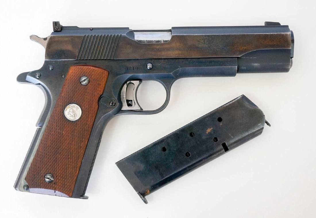 Colt 1911 .45 National Match Pistol - 7