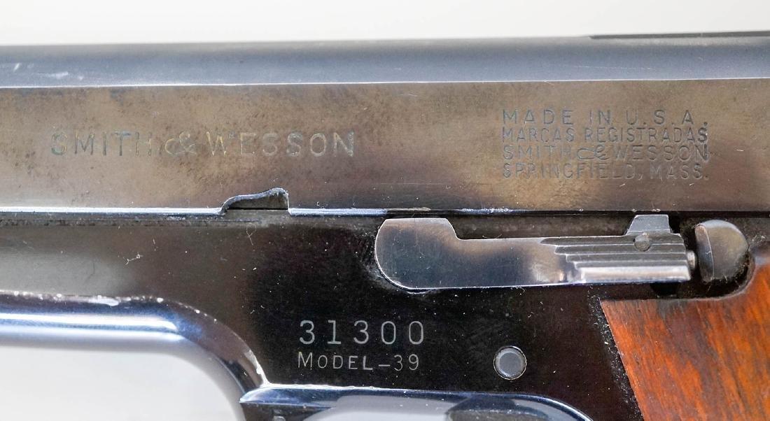 Smith & Wesson Model 39 Pistol - 5