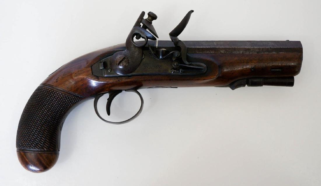 A Flintlock Pistol by Davy