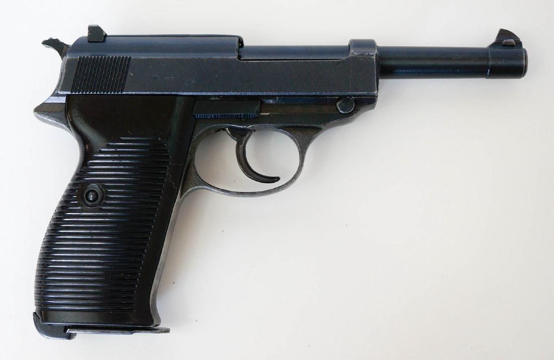 Walther P-38 Semi-Auto .9mm Pistol
