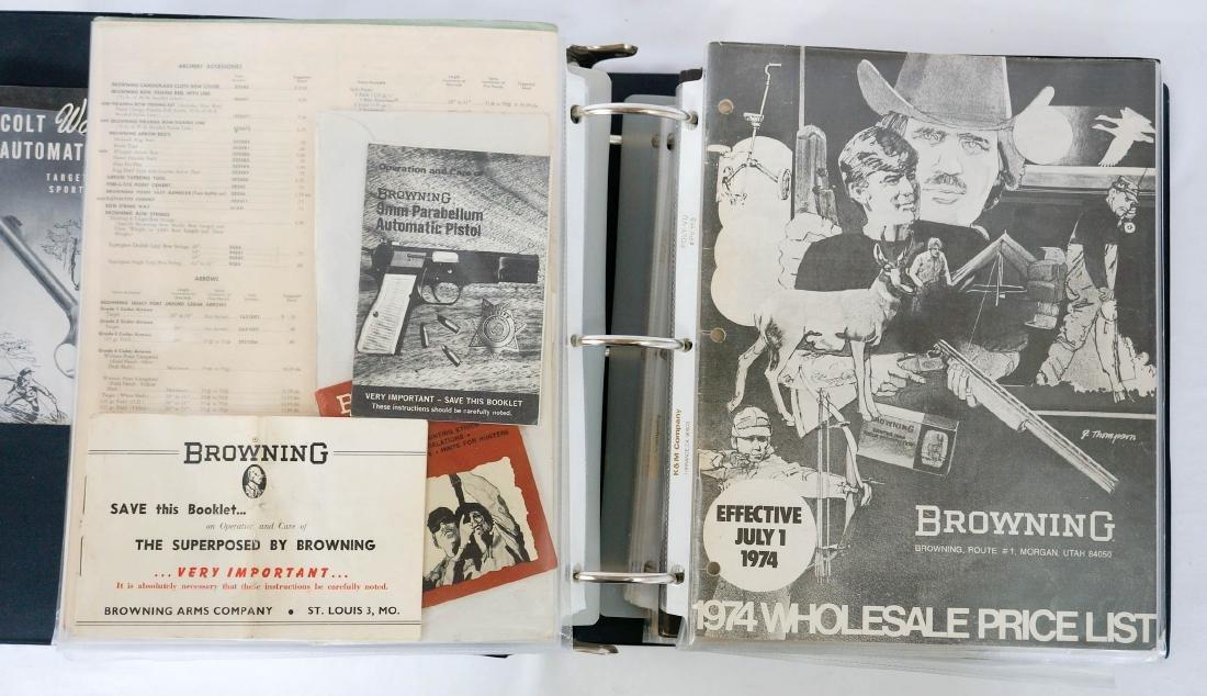 Large Group of Vintage Browning Gun Catalogs - 4