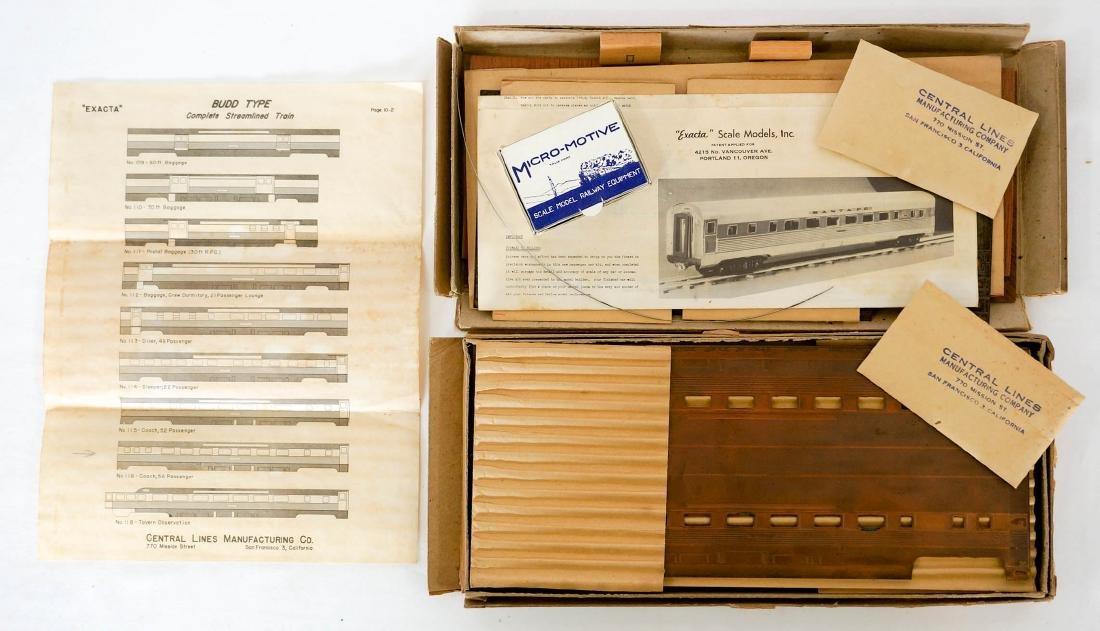 Central Lines Exacta Vintage HO Model Kits MIB