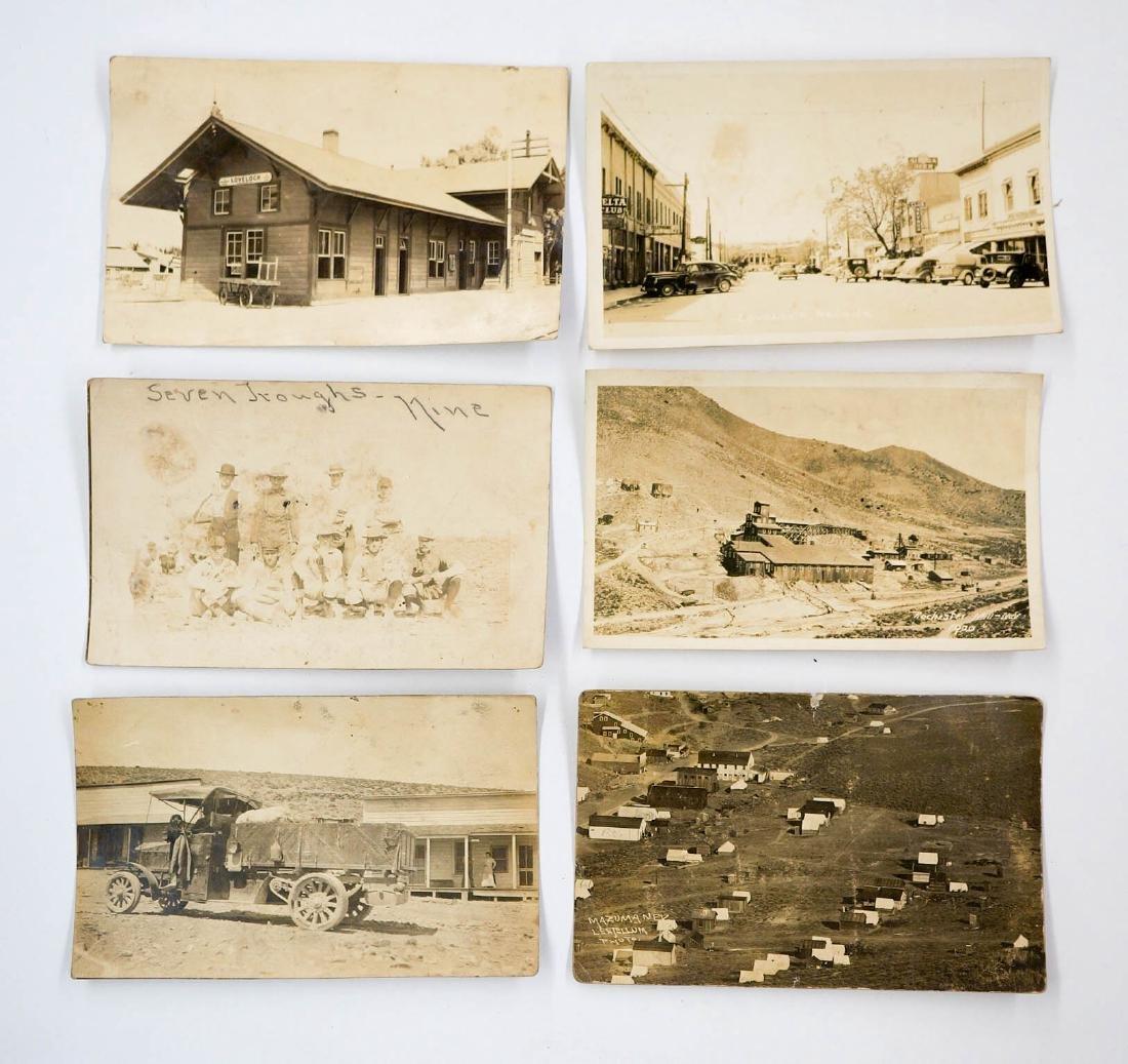 Early 1900's RPPC's Nevada, Arizona Mining Camps - 2