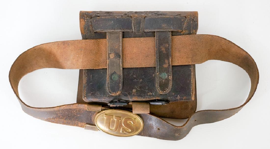 Civil War Cartridge Box - 2