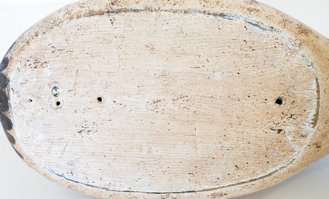 Old Wooden Duck Decoy - 5