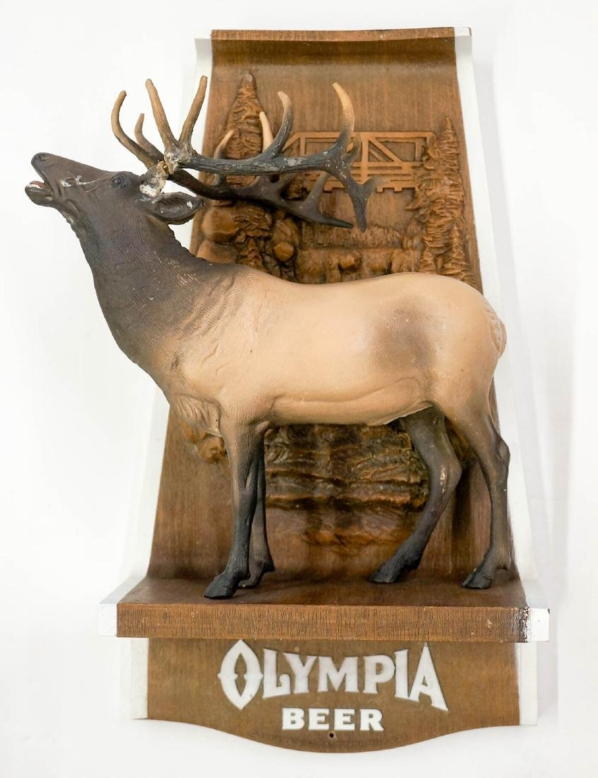 Olympia Beer Advertising Animal Wall Signs - 4