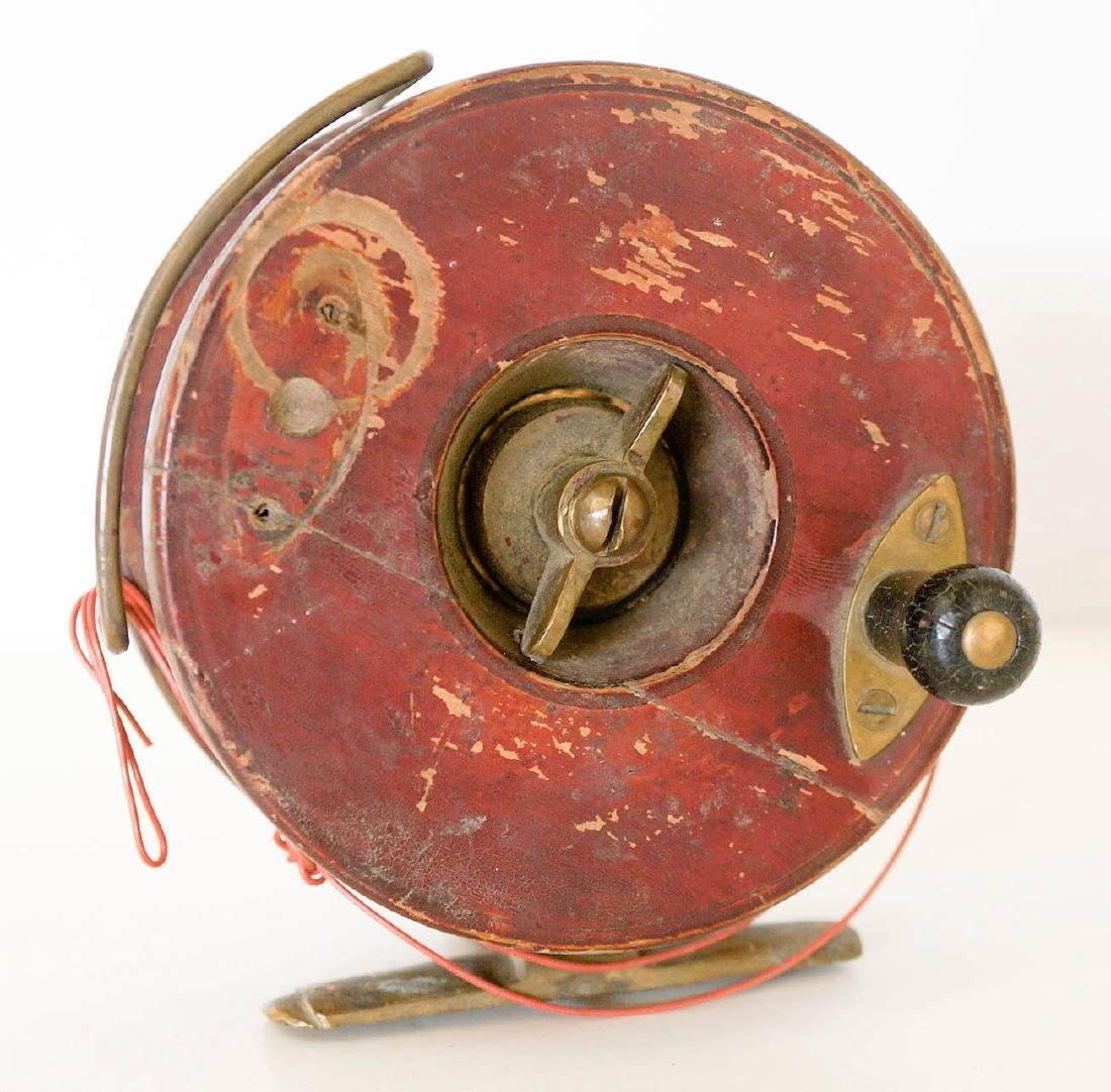 A Vintage Fishing Reel, Made in England