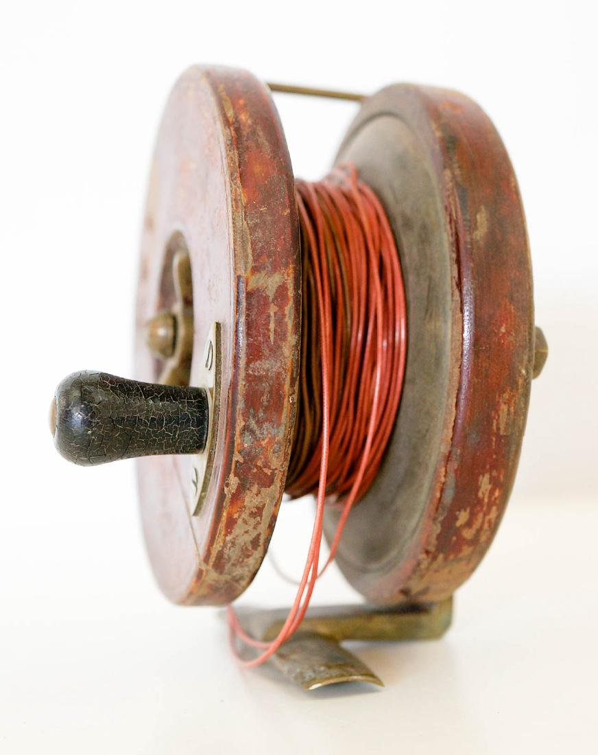 A Vintage Fishing Reel, Made in England - 4