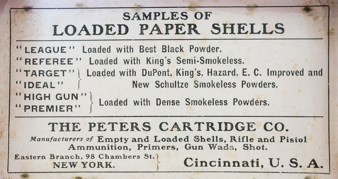 Vintage Peters Salesman Sample Dummy Window - 5