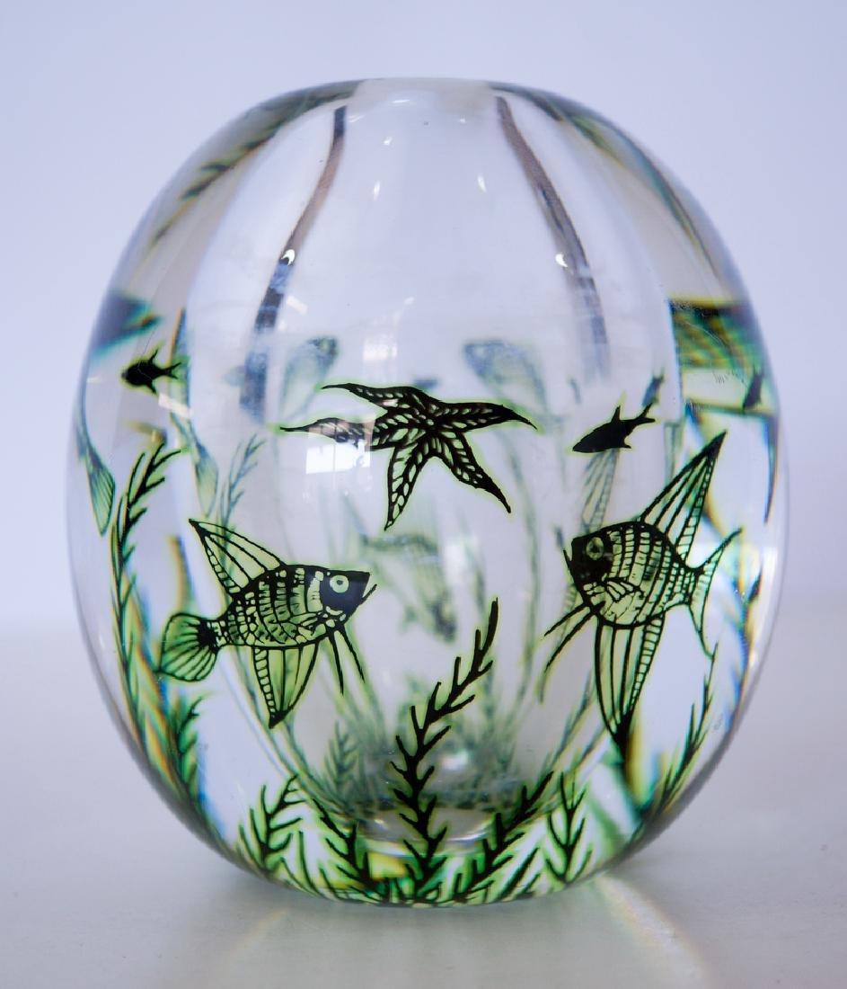 Edward Hald Orrefors Graal Sea Vase - 3