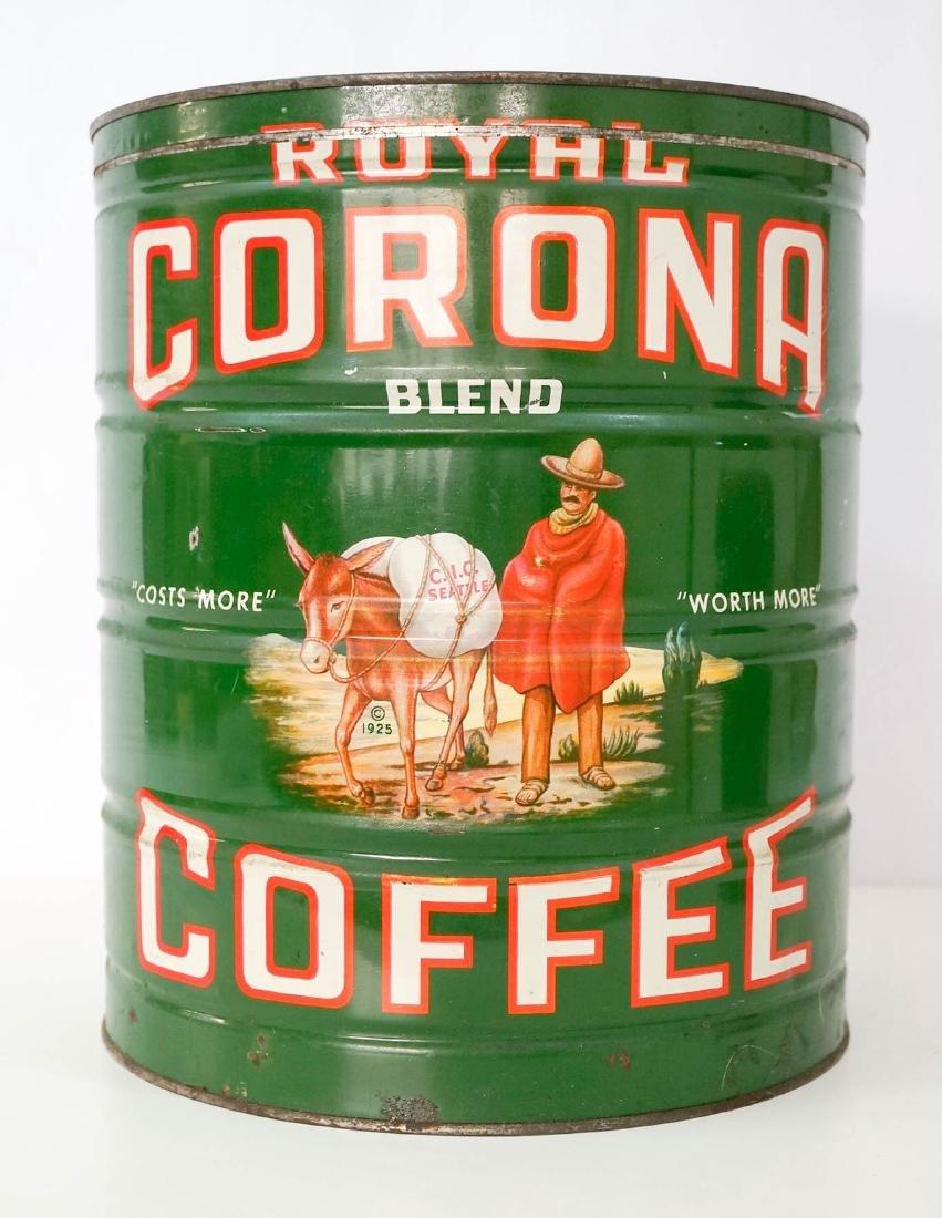 Royal Corona Large Coffee Tin