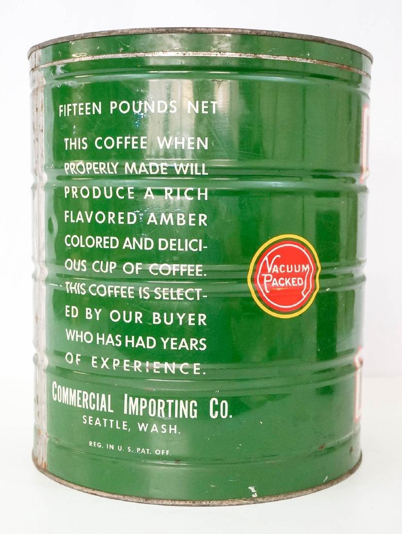 Royal Corona Large Coffee Tin - 2