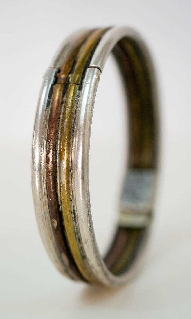 Los Castillo Mixed Metal Bangle