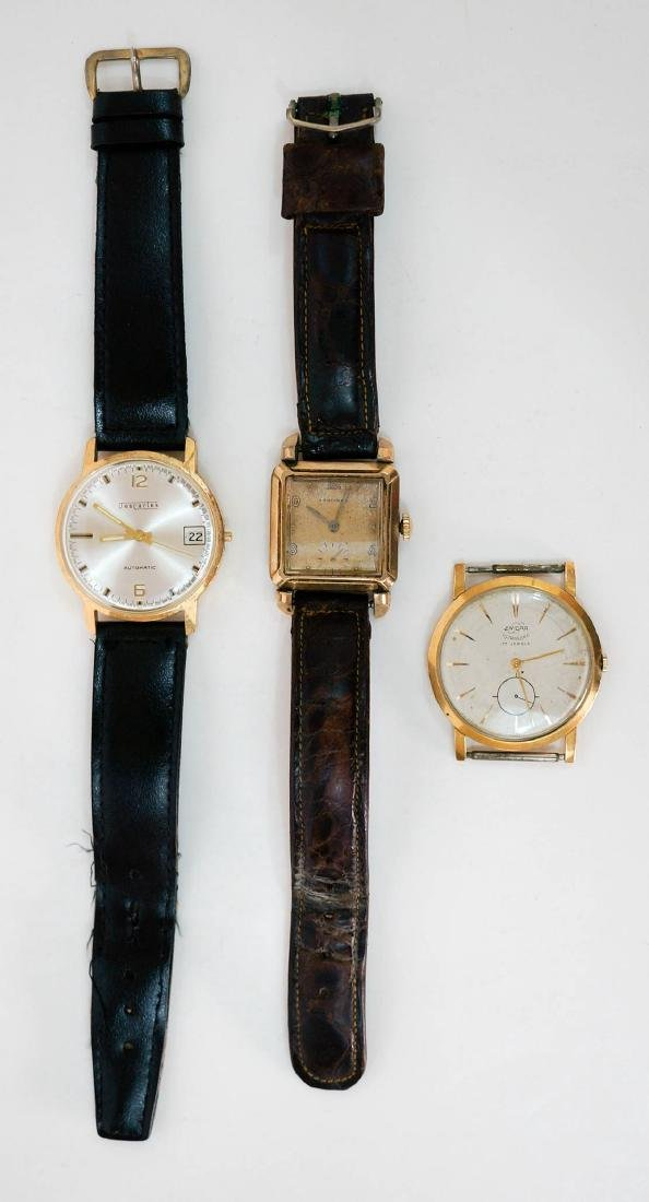 Three Vintage Men's Wrist Watches