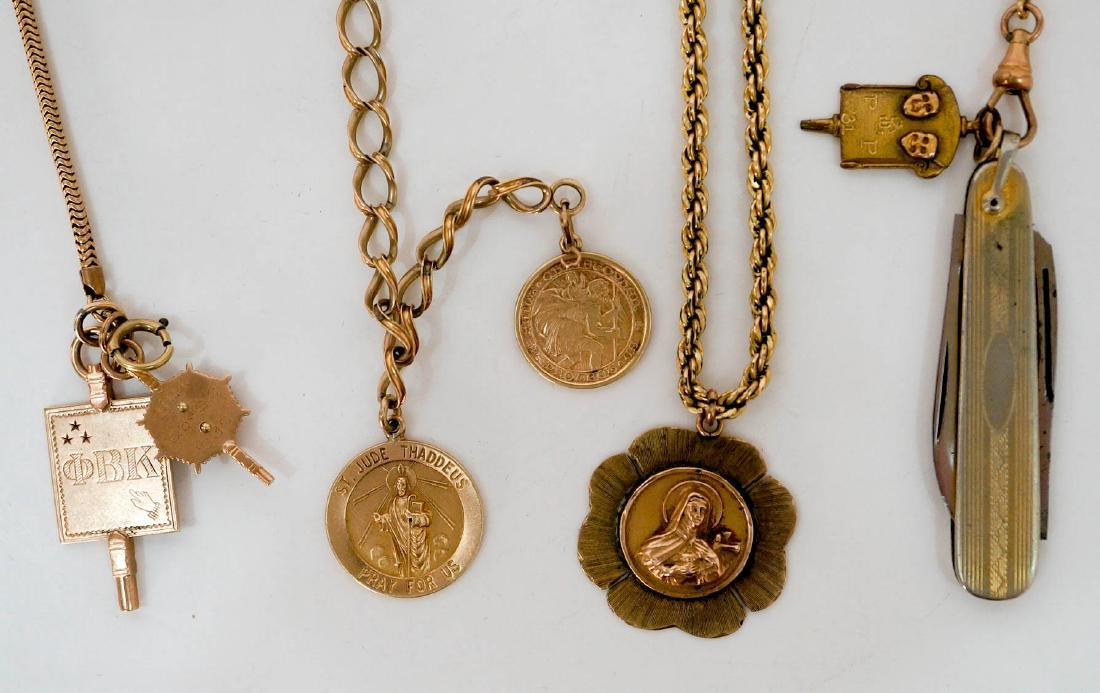 Estate Jewelry Gold Charms, Scrap Gold, etc. - 2