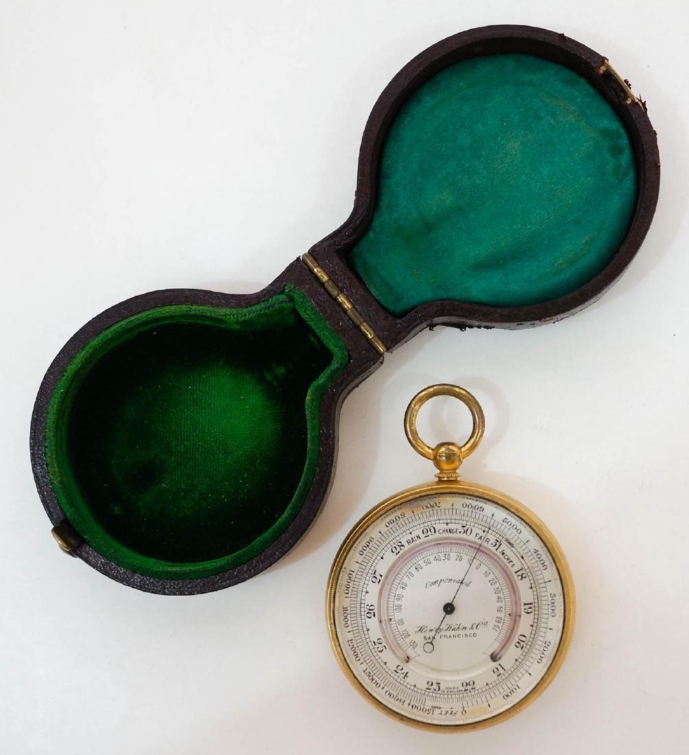 Vintage Henry Kahn & Co. Barometer Made in England - 2