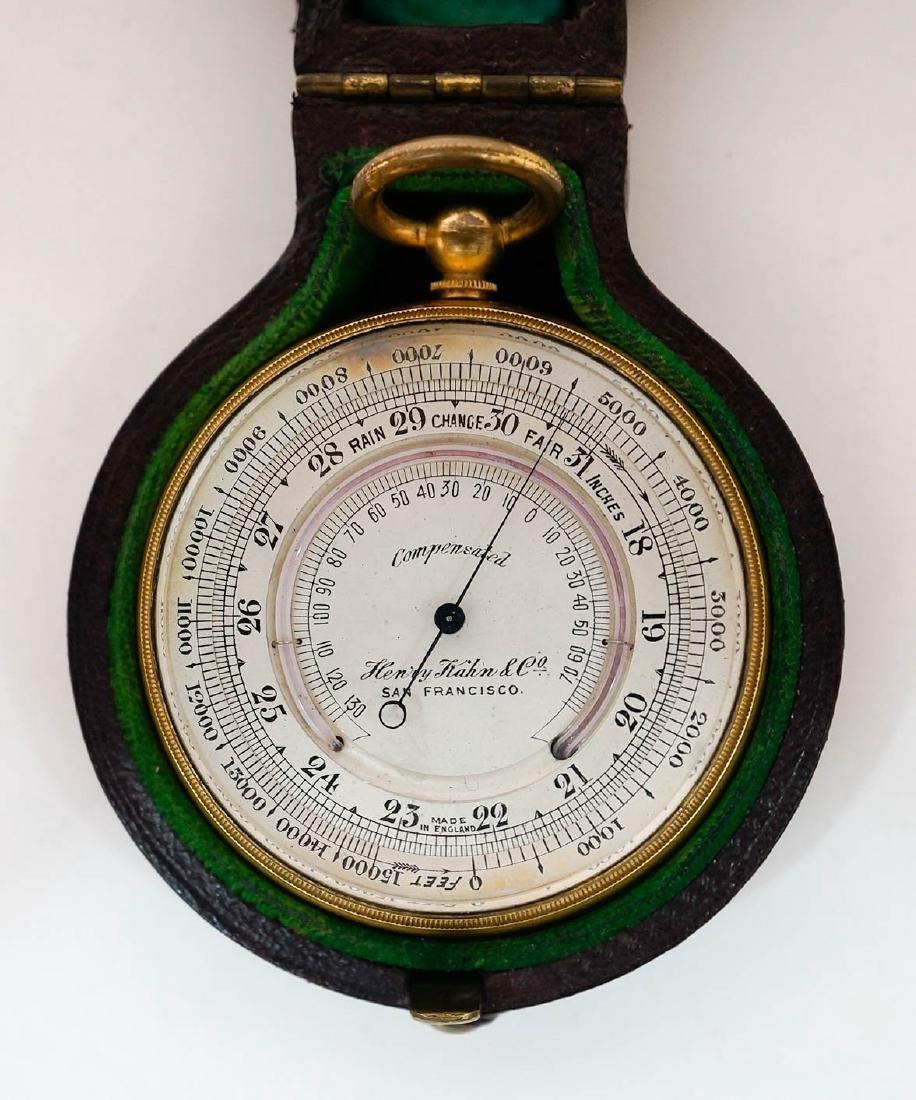 Vintage Henry Kahn & Co. Barometer Made in England - 3