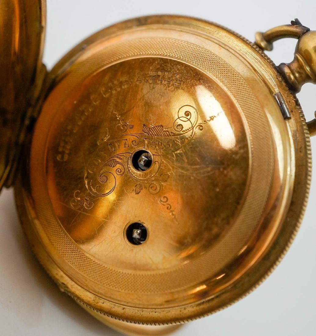 Charles Laroche and Fils 18k Pocket Watch 10 Size - 2