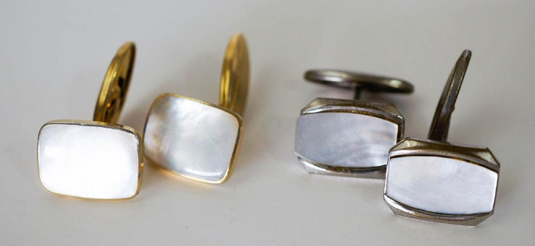 Estate Group of Vintage Men's Cufflinks - 4