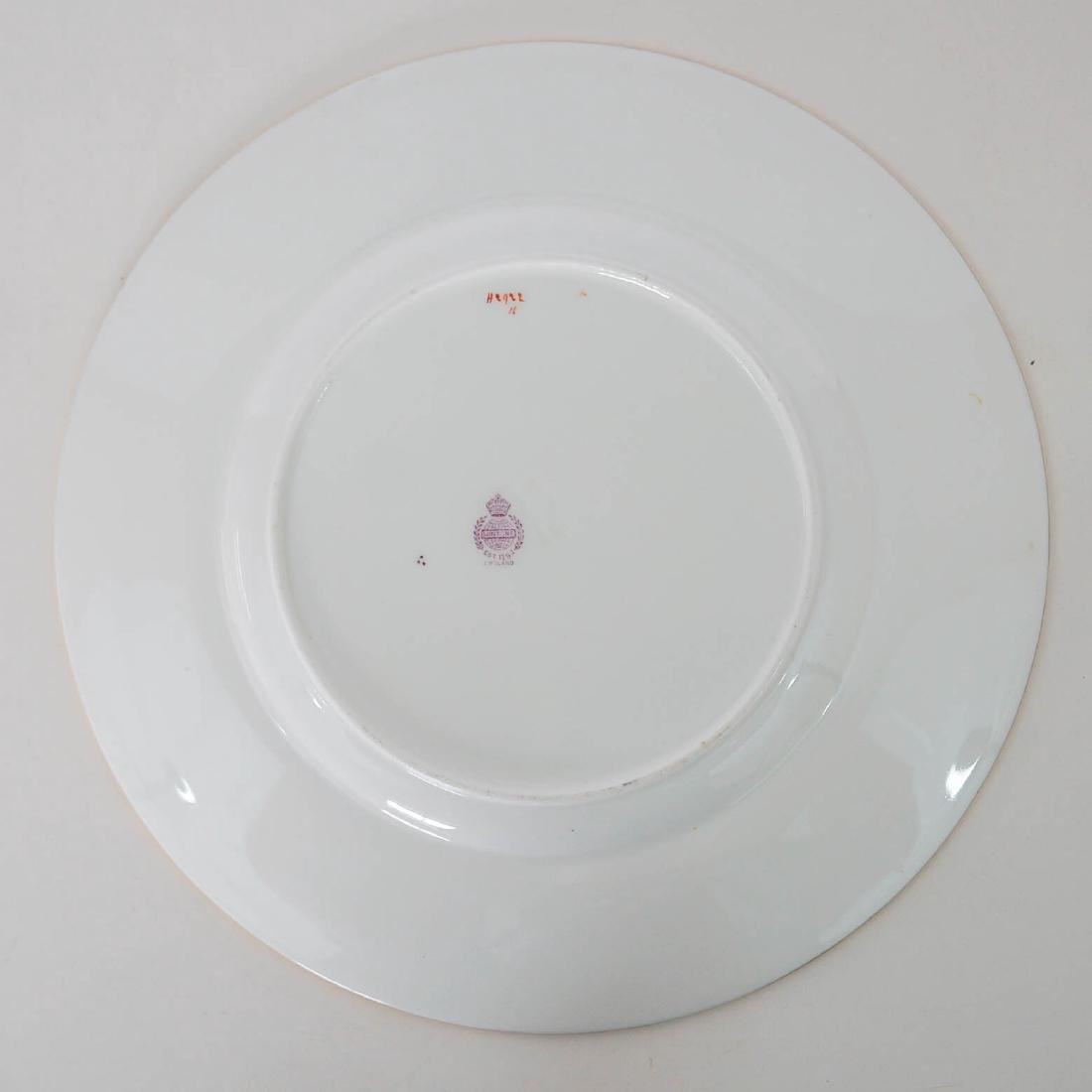 Eight Floral Mintons Plates H2922 - 2