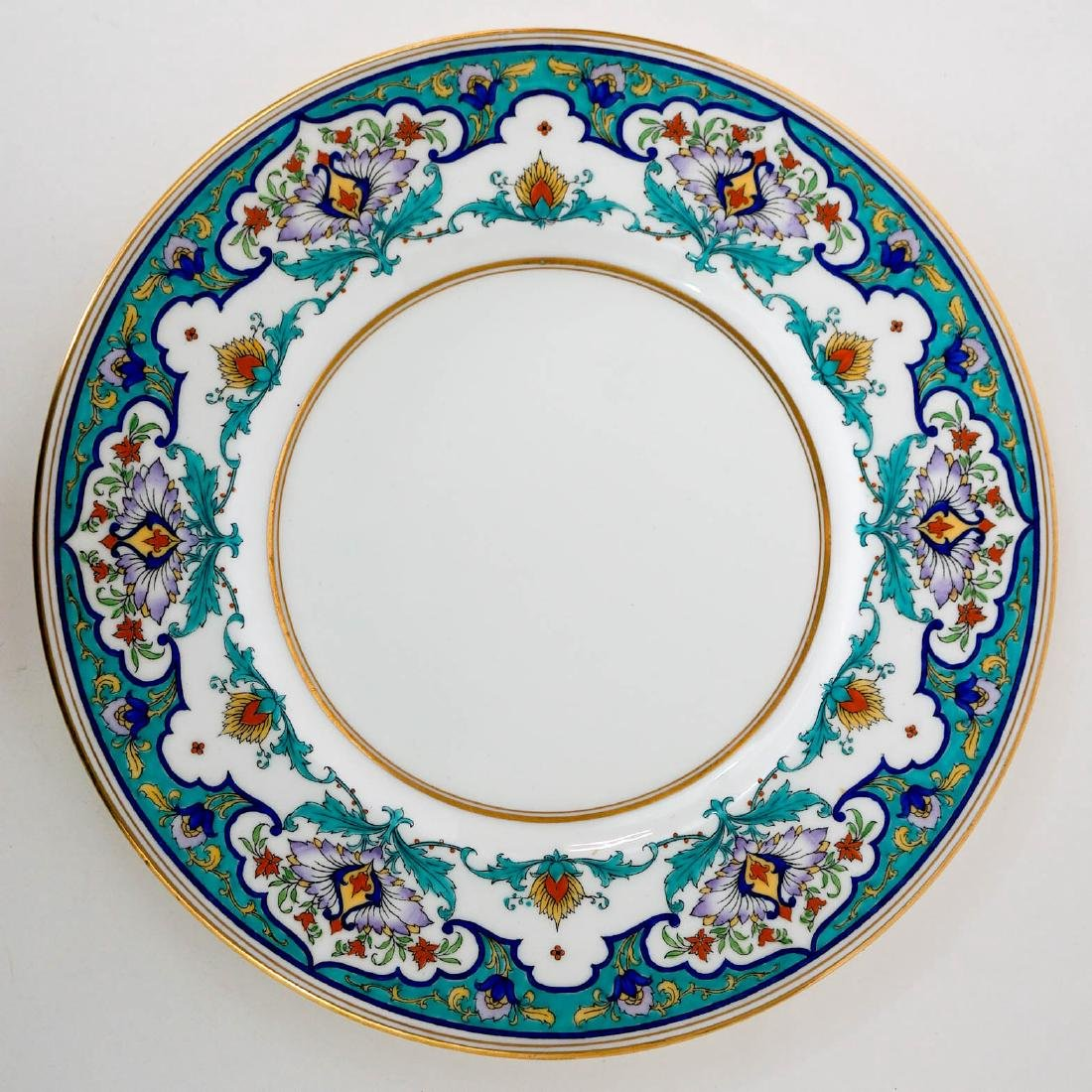 Eight Floral Mintons Plates H2922 - 3