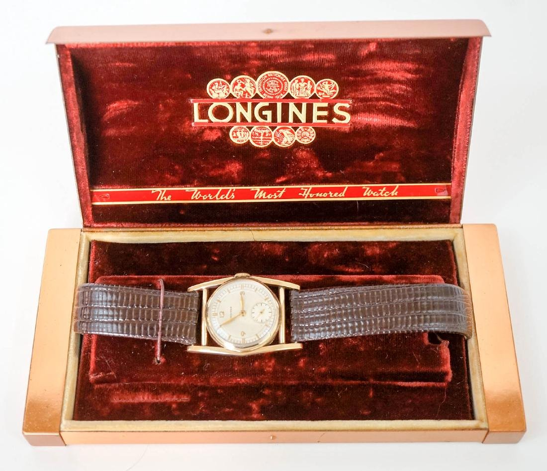 Longines 10k Gold Filled Mainliner Wrist Watch