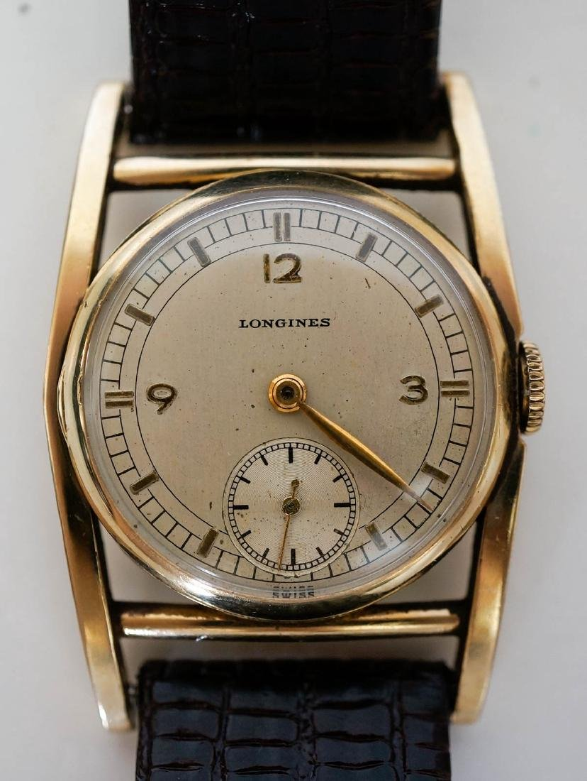 Longines 10k Gold Filled Mainliner Wrist Watch - 3