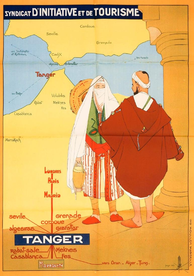 Tanger Poster, 1929 [D'initiative et de Tourism]