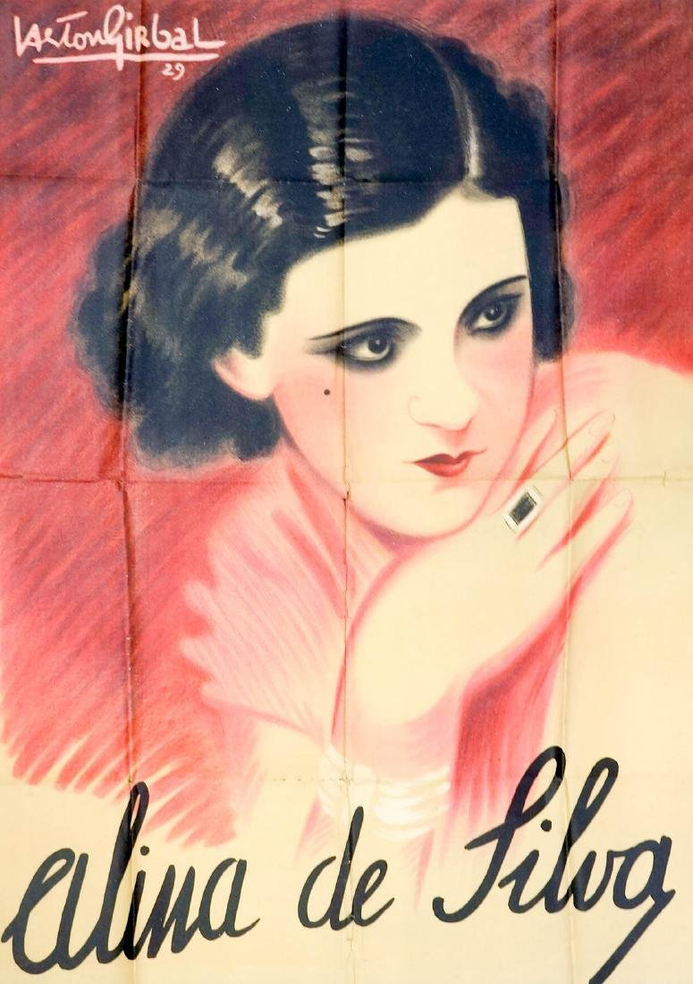 Gaston Girbal Poster, 1929 [Alina de Silva]