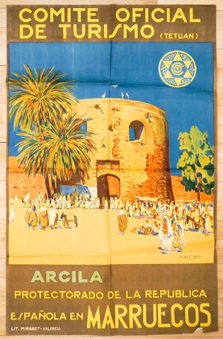 Mariano Bertuchi Comite Oficial De Turismo Poster