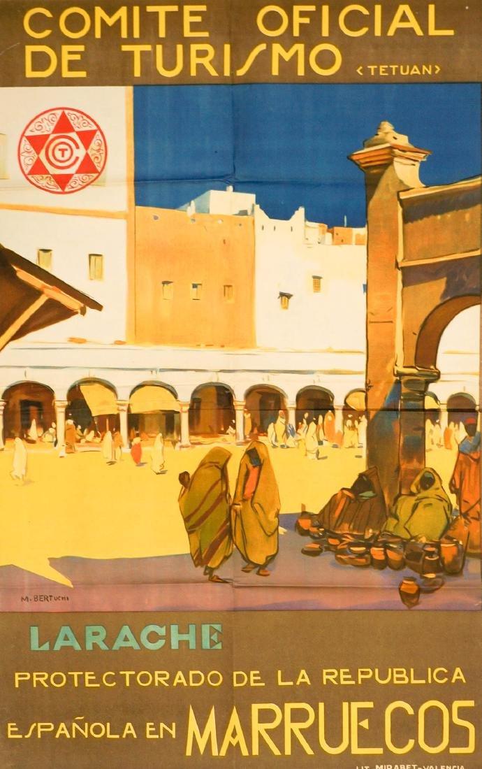 M. Bertuchi Comite Oficial De Turismo Poster