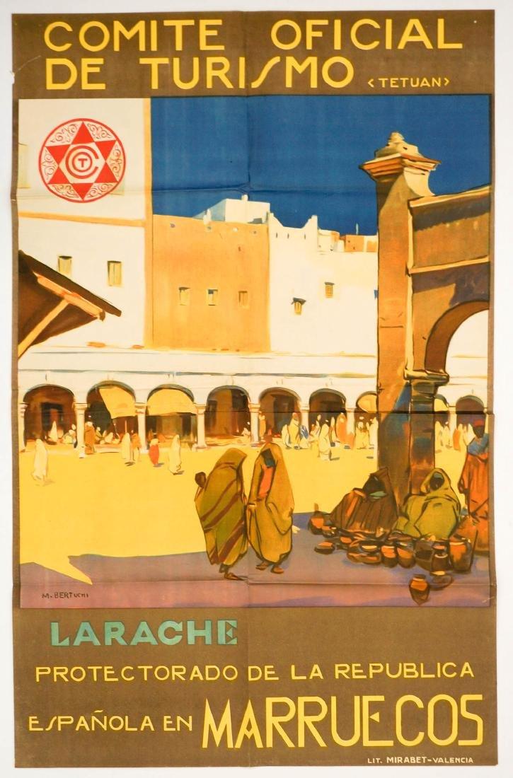 M. Bertuchi Comite Oficial De Turismo Poster - 2