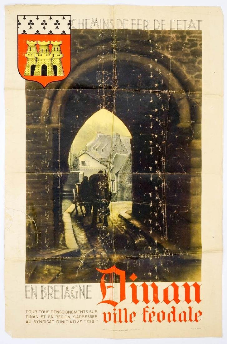 Dinan Ville Feodale Poster