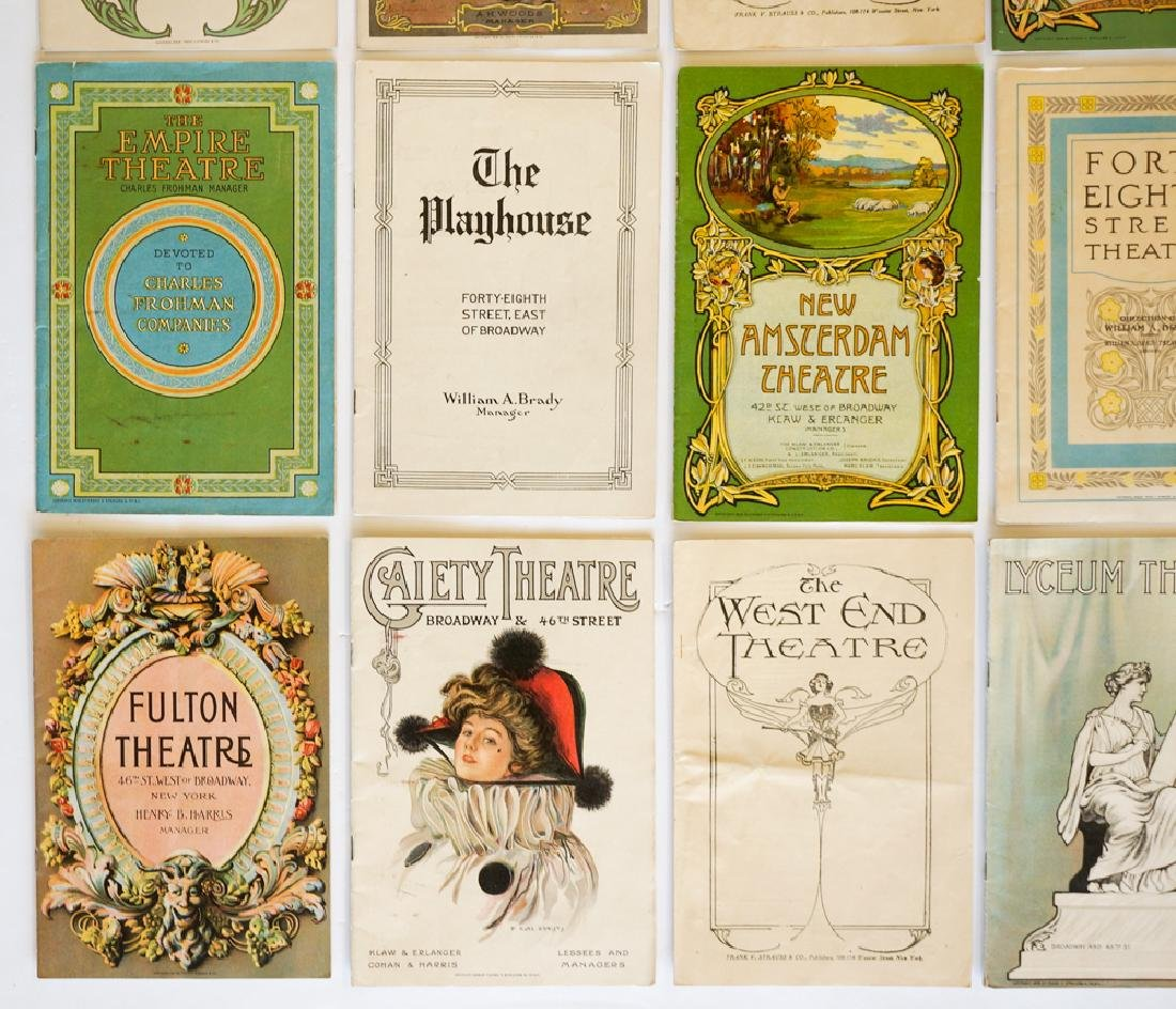 Antique Theater Programs, New York - 3