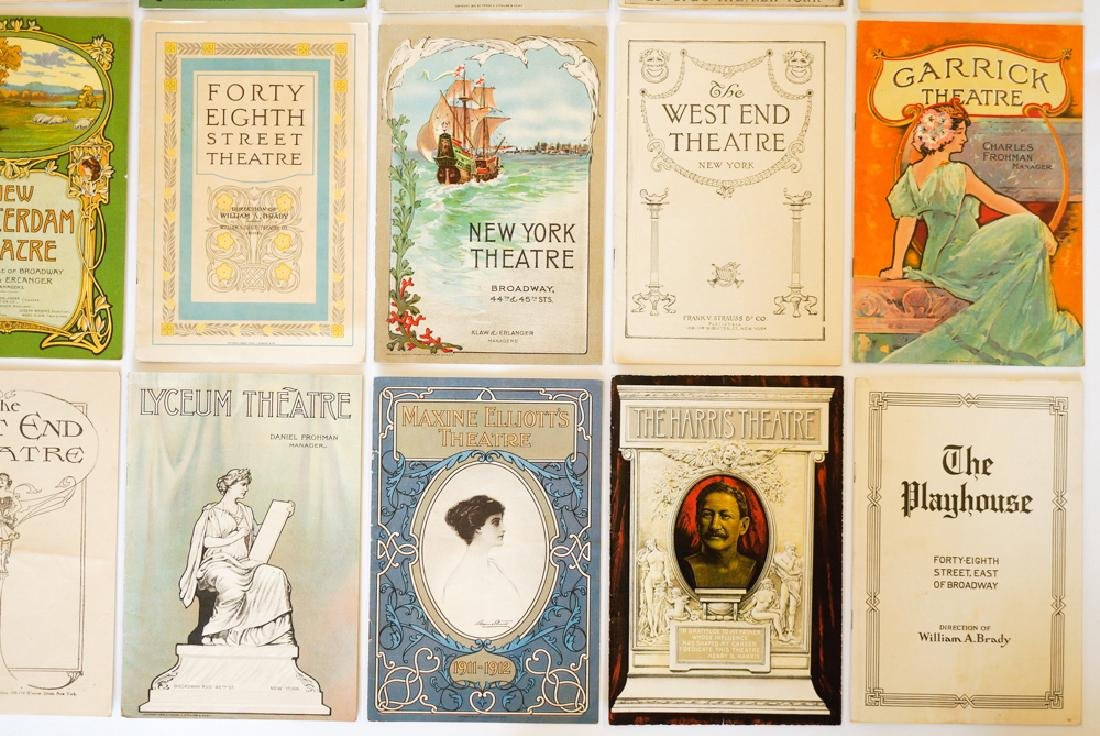 Antique Theater Programs, New York - 4