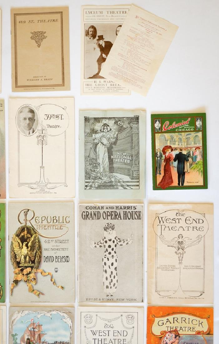 Antique Theater Programs, New York - 5