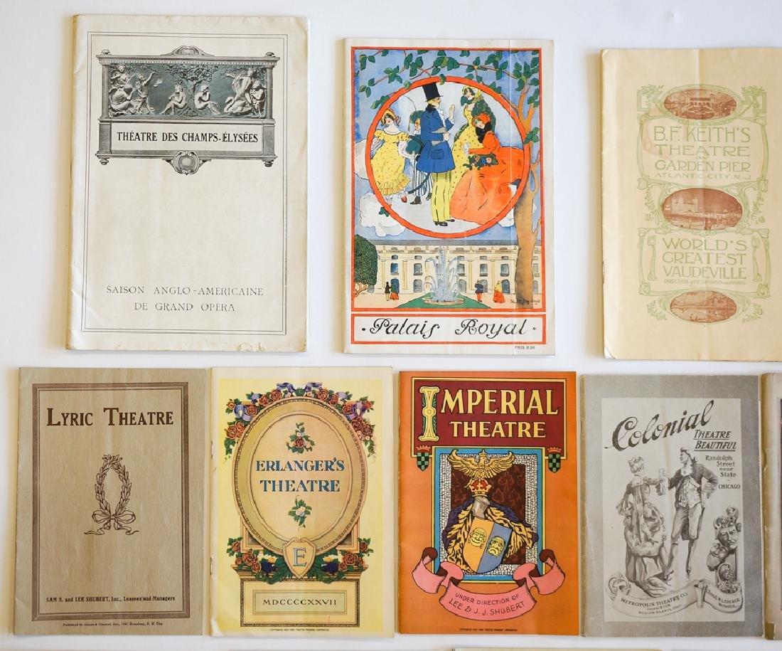 Antique Theater Programs, New York - 4