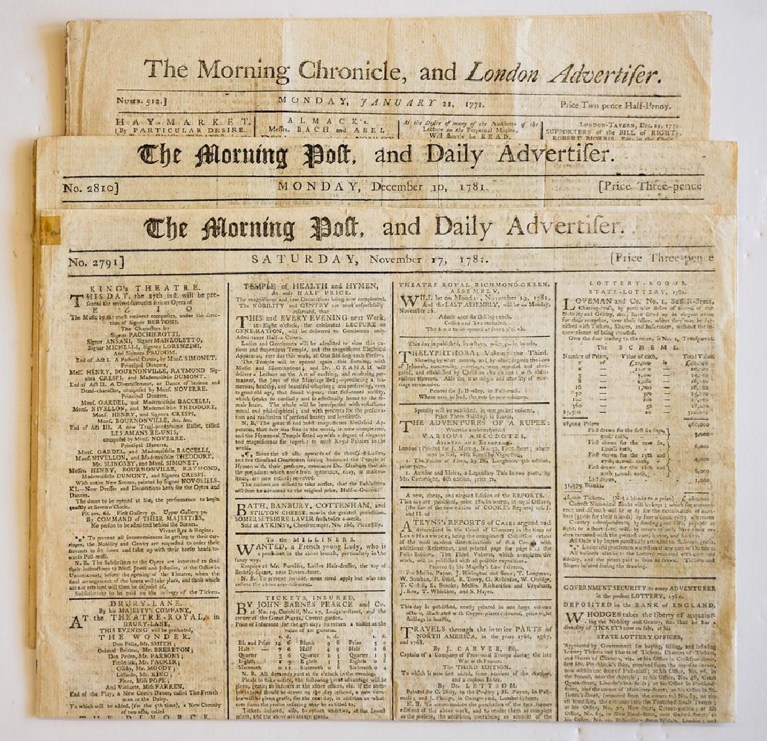18th Century British Newspapers