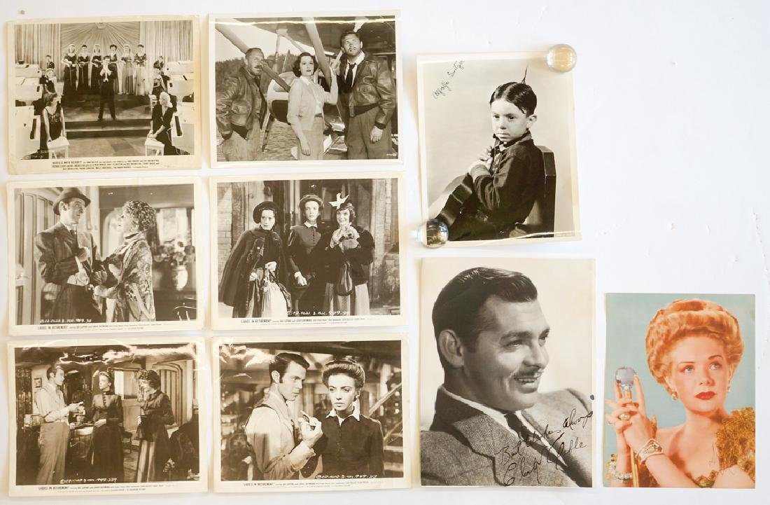 Group of Vintage Movie Photos (9 pieces)