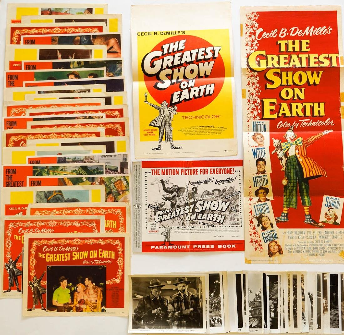 The Greatest Show on Earth Ephemera
