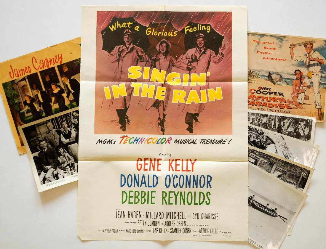 Group of Movie Posters Singin' in the Rain +
