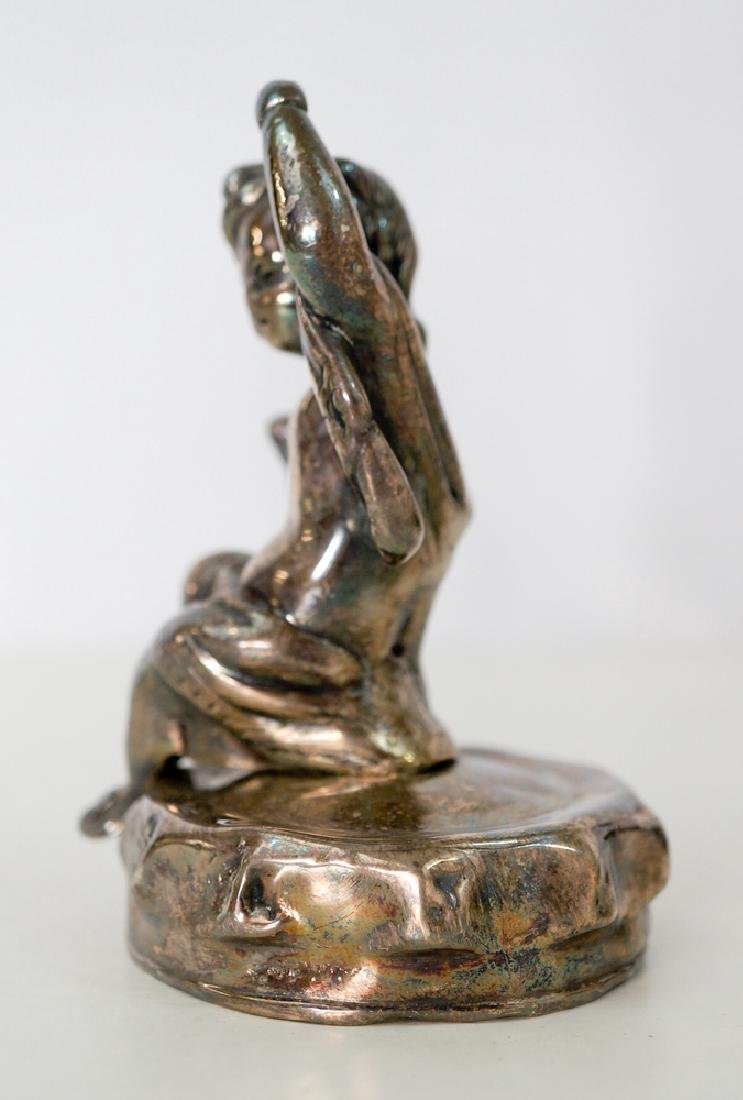 Vintage Hood Ornament Putti or Cherub - 4