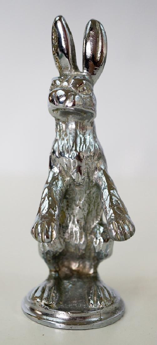 Standing Rabbit Hood Ornament, Car Mascot