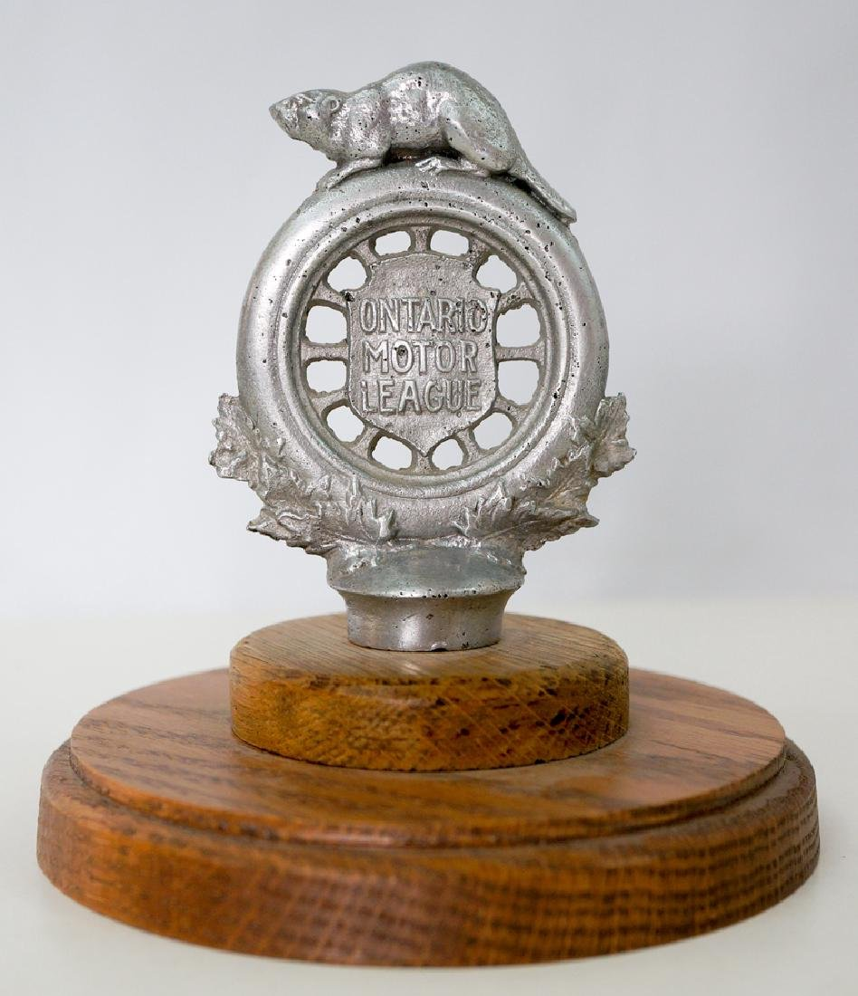 Ontario Motor League Hood Ornament