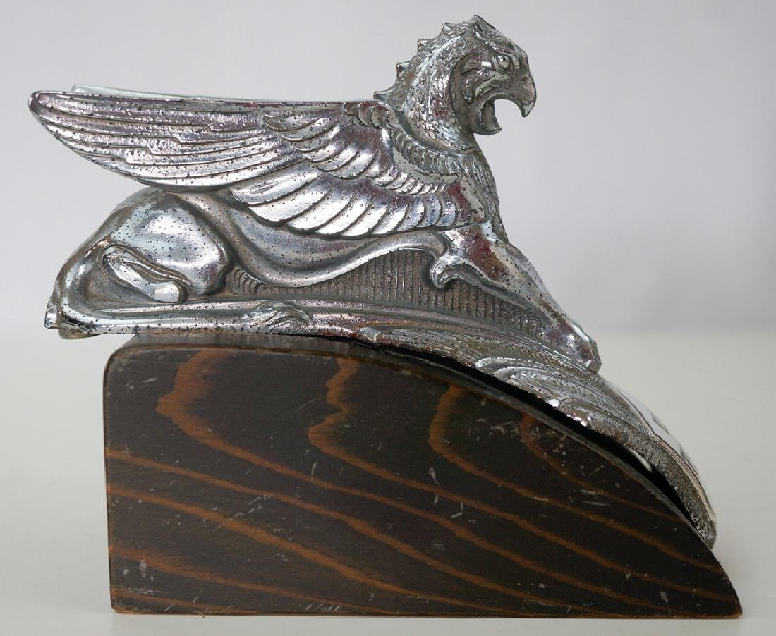 Vintage Essex Terraplane Six Griffin Hood Ornament