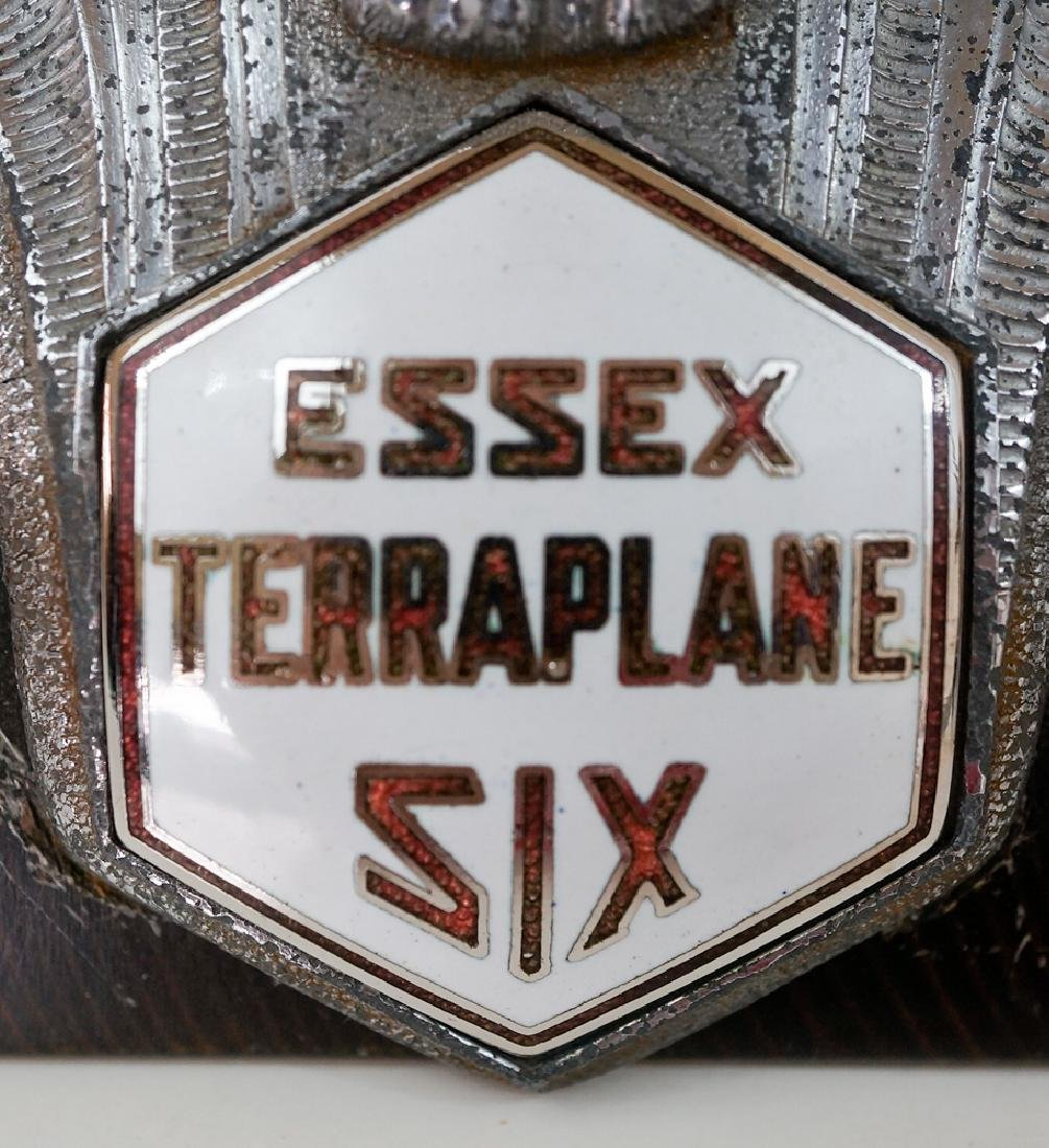 Vintage Essex Terraplane Six Griffin Hood Ornament - 3