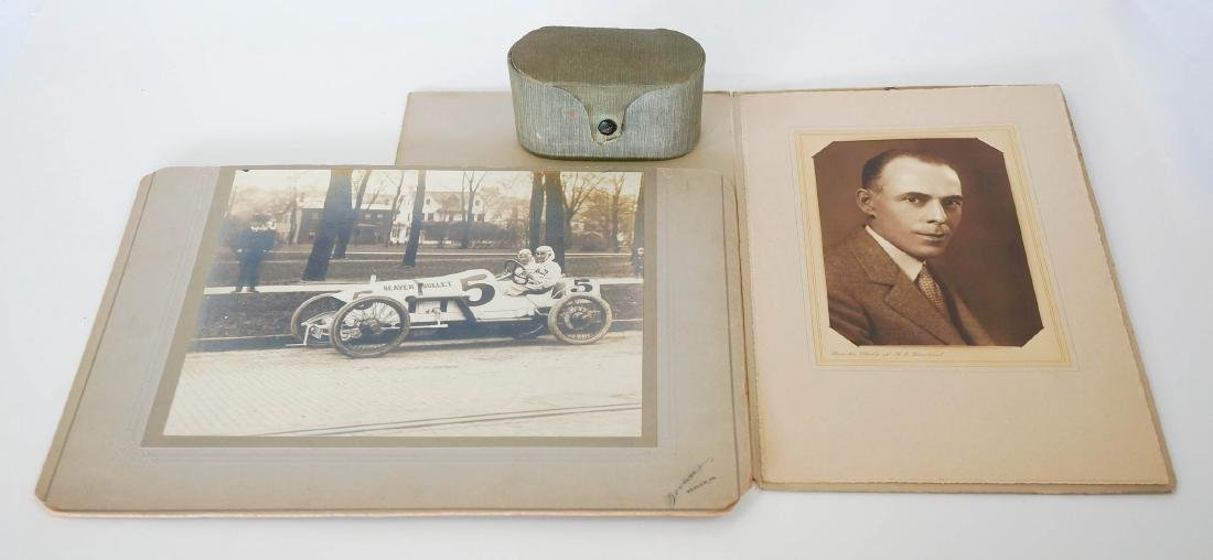 1914 Indy 500 Charles Rogers Race-Used Goggles - 3