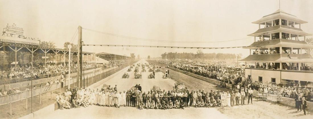 1914 Original Indy 500 Panoramic Photograph