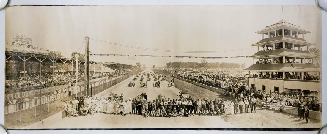 1914 Original Indy 500 Panoramic Photograph - 2